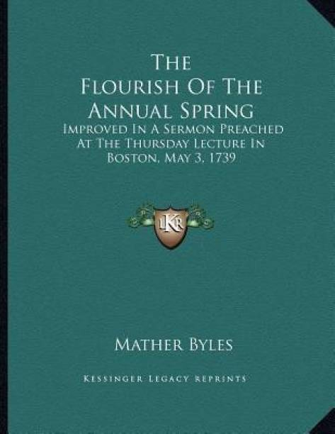 The Flourish Of The Annual Spring