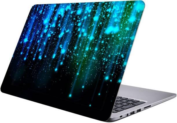 Printclub stars Laptop Sticker 15.6 inch-Premium Quality, UV Printed, Laminated, Bubble Free, Scratchproof Laptop Skin-396 Vinyl Laptop Decal 15.6