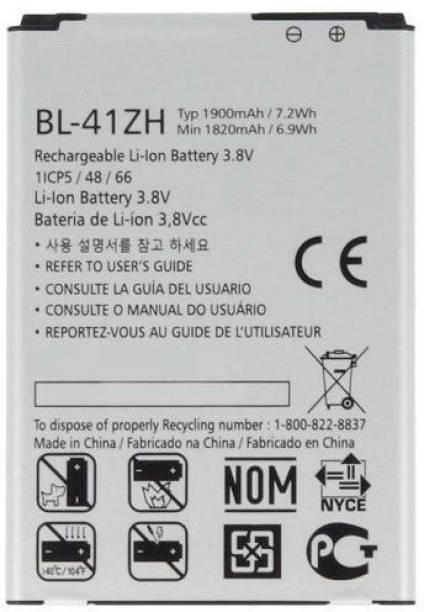 TokyoTon Mobile Battery For  LG BL41ZH