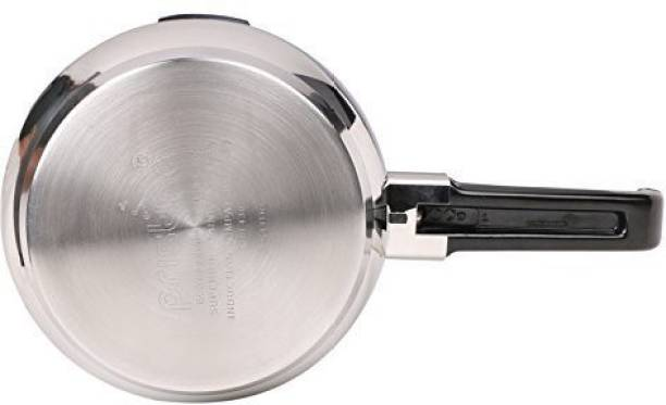 cb0f163cc PRISTINE Stainless Steel Liters 7 Induction Bottom Pressure Cooker