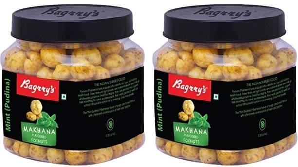 Bagrry's Mint Makhana, Pack of 2