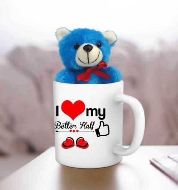 ME&YOU Mug, Soft Toy Gift Set