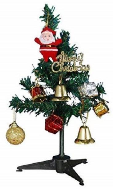 WebelKart Pine 30.48 cm (1.0 ft) Artificial Christmas Tree