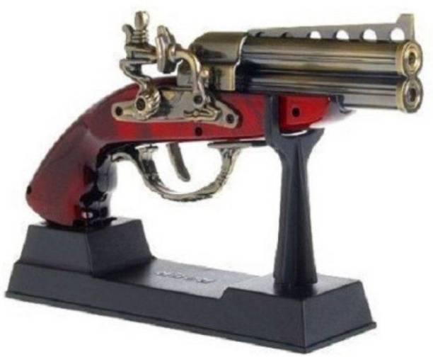 Mannat Socket Mauser gun Shaped Car Cigarette(Kranti) Lighter with Windproof - Metal Body & Plastic Hand Grip Car Cigarette Lighter