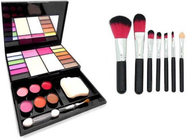 6b891f550 TheTopNotch Makeup Kit 5020 & Hello Kitty Brush Set 7 Piece with Storage Box