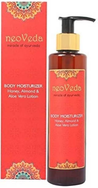NeoVeda Body Moisturizer Honey Almond & Aloe Vera Lotion