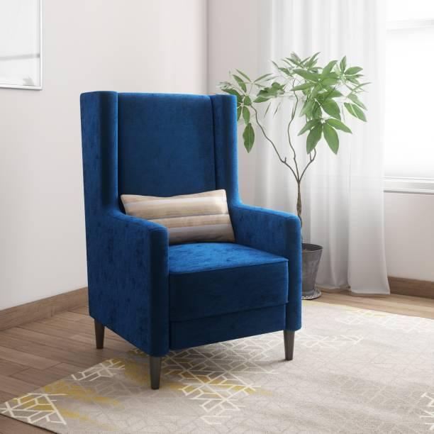 KURLON Wing Fabric 1 Seater  Sofa