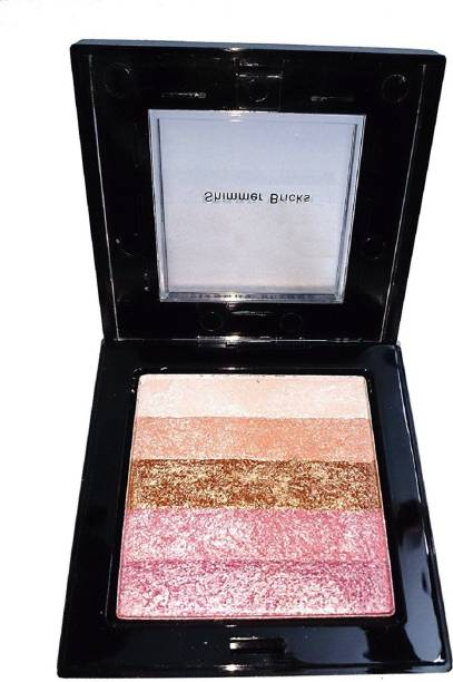 lujo Professional Makeup Shining Star Shimmer Brick  Highlighter