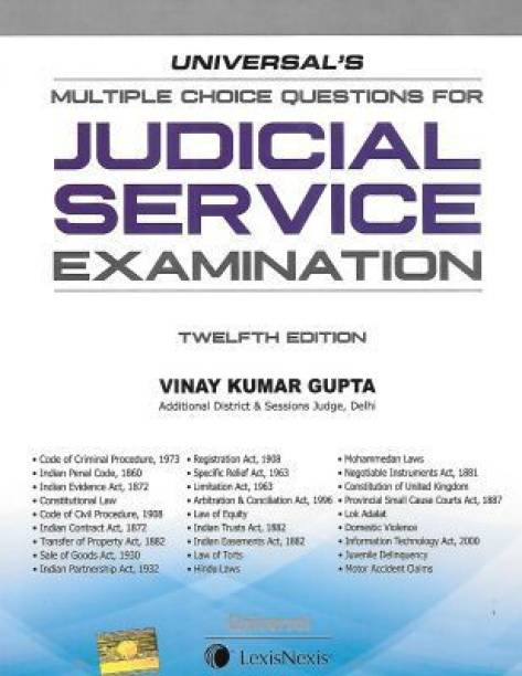Universal's Multiple Choice Questions For Judical Service Examination (Twelfth Edition)