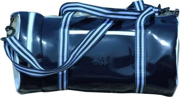JaisBoy JAIS BOY Gym Bag Pu Leather Sports Gym Bag with Shoes Compartment  Travel Duffel Bag f68d4cb16e6a4
