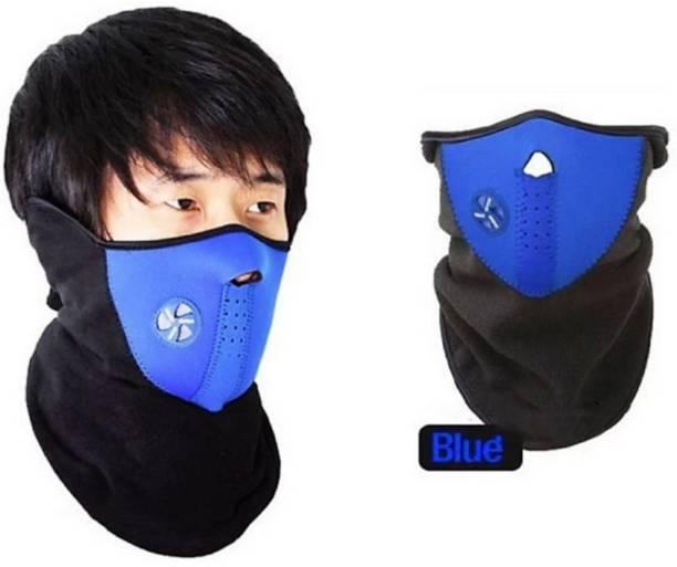 zaysoo Blue Bike Face Mask for Men & Women