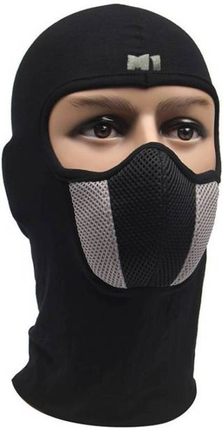 zaysoo Black Bike Face Mask for Men