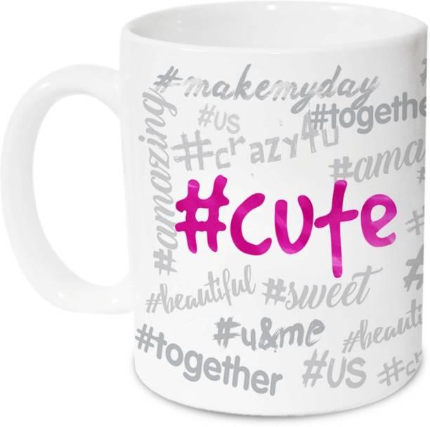 HOT MUGGS #cute Ceramic Coffee Mug