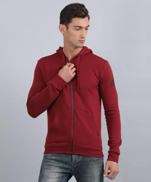huge discount 089e7 8c41e ADIDAS Full Sleeve Solid Mens Sweatshirt