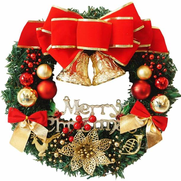 YNS Crafts Stock Christmas Decoration 009 Wreath Pack of 1