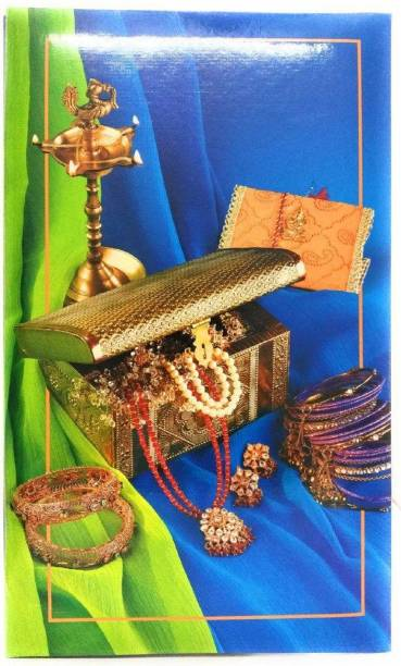Natraj New Exclusive Slip In (0.6mm Thick Pvc Plastic Pages) 108 Pocket 4 X 6 Inch Album