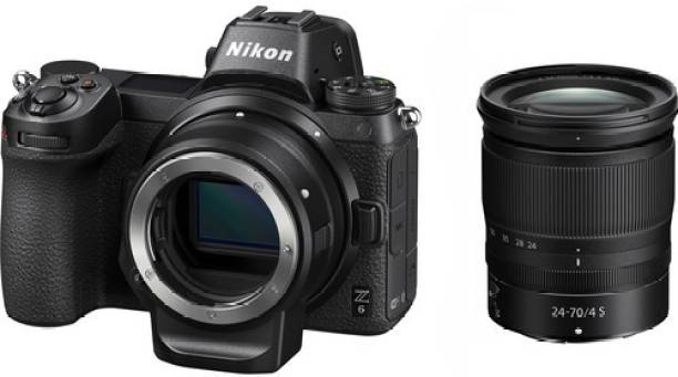 NIKON Z 6 Mirrorless Camera Body with 24-70mm Lens and Mount Adapter FTZ