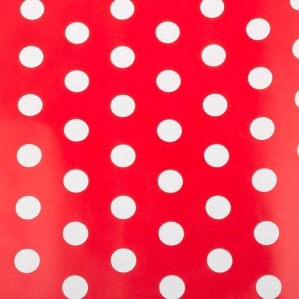 4147c3eab Satyam Kraft (Pack of 10) Gift Wrapping Polka dot Paper with Free 10 Gift