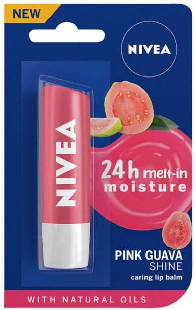 NIVEA Lip Balm Pink Guava Shine