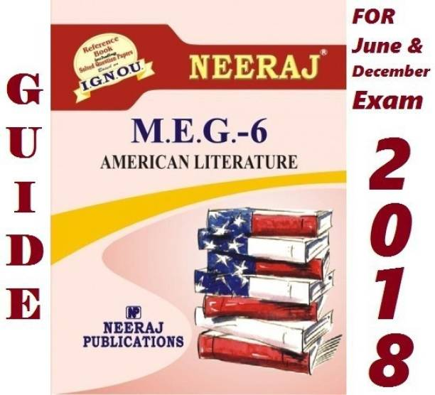 MEG6 American Literature | English Medium | Neeraj Publications Guide With Question Bank