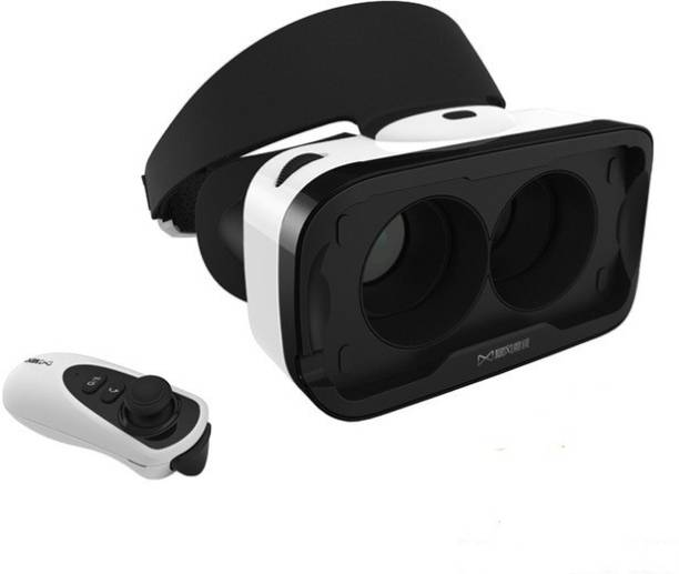 TECHGEAR Virtual Reality Headset 3D VR Glasses With Remote IOS Edition With Remote