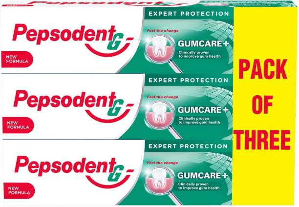 PEPSODENT Gum Care+ 140 g, (Pack of 3) Toothpaste