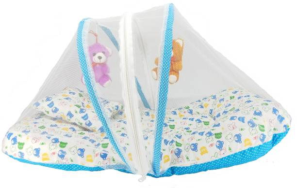 Aayat Kids Luxury Bed Insects Protector Skin Friendly X75 Soft Baby Bed Breathable Crib