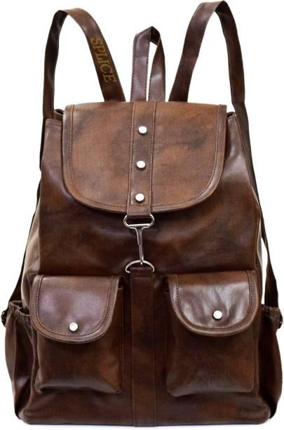 59e1baff433a VIVARS PU Leather Backpack School Bag Student Backpack Women Travel bag  Waterproof Backpack 6 L Backpack