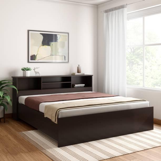 Crystal Furnitech Skyler Engineered Wood King Bed