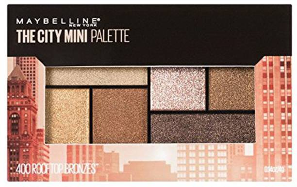 MAYBELLINE NEW YORK Mini Palette Eye Shadows, Rooftop Bronze, 6.1g 6.1 g