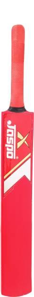 Jaspo wooden Cricket Bat(Size-5) (red) Poplar Willow Cricket  Bat
