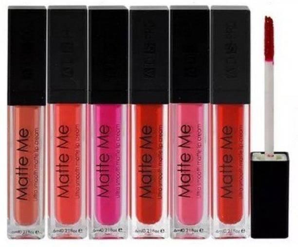 Make line Matte Me Ultra Smooth Lip Cream 6 Pec