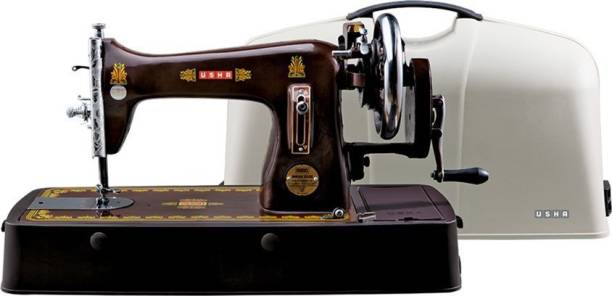 USHA Bandhan Dlx Composite with cover Manual Sewing Machine