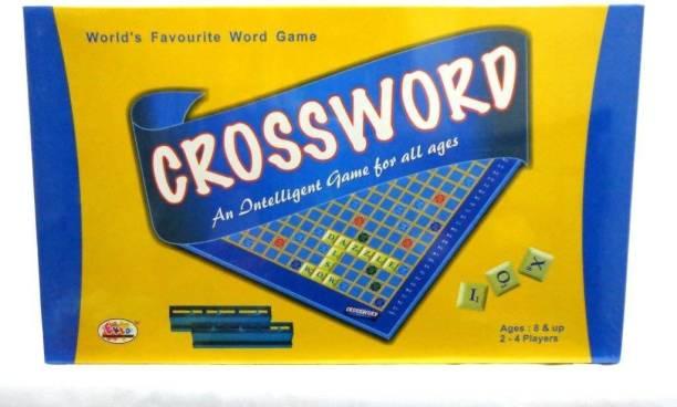 Ekta Crossword (Multicolour) Word Games Board Game