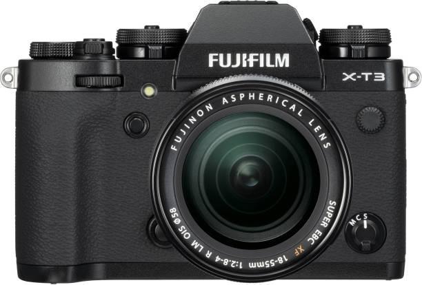 FUJIFILM X-T3 with XF 18-55 mm F2.8-4.0 R LM OIS Lens Mirrorless Camera Kit