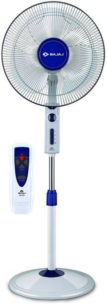 BAJAJ VICTOR VP R01 400 MM NEW BLUE 3 Blade Pedestal Fan