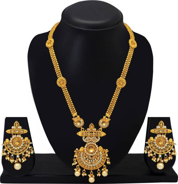 Simple Gold Necklace Buy Simple Gold Necklace Online At Best