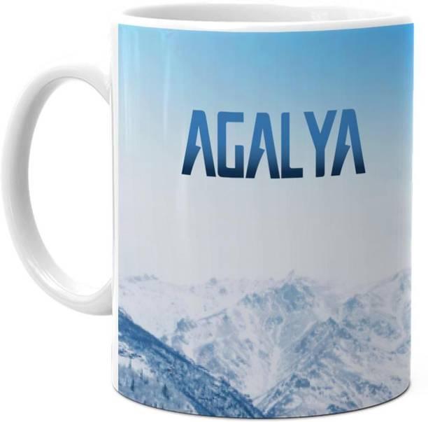 HOT MUGGS Me Skies - Agalya Ceramic Coffee Mug