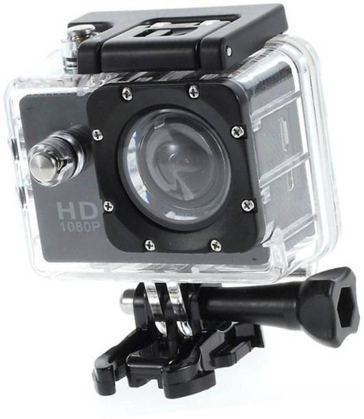 LIZZIE Sports Action Camera Video Camera with Waterproof Camera Case Sports and Action Camera