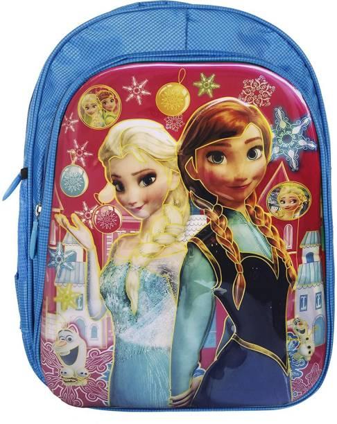 RBRN Frozen Elsa Anna 3 Waterproof School Bag