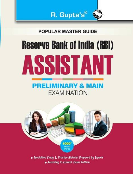 Reserve Bank of India: Assistants - (Preliminary & Main) Recruitment Exam Guide