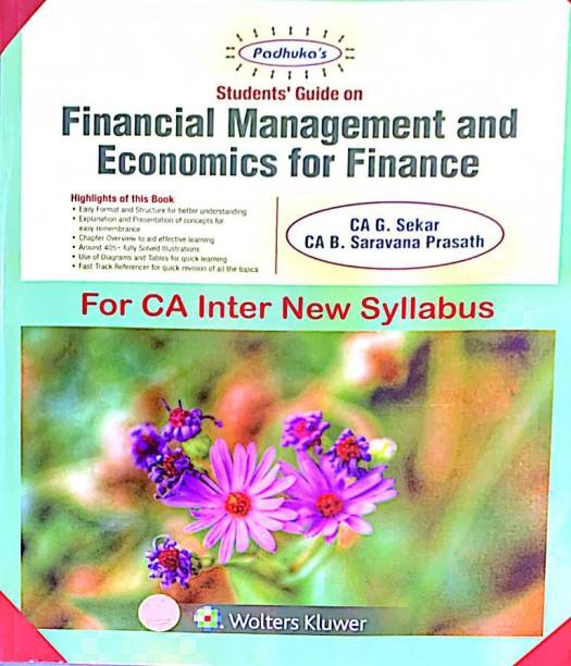 Padhuka's Students' Guide on Financial Management and Economics For Finance For CA Inter new Syllabus May 2019