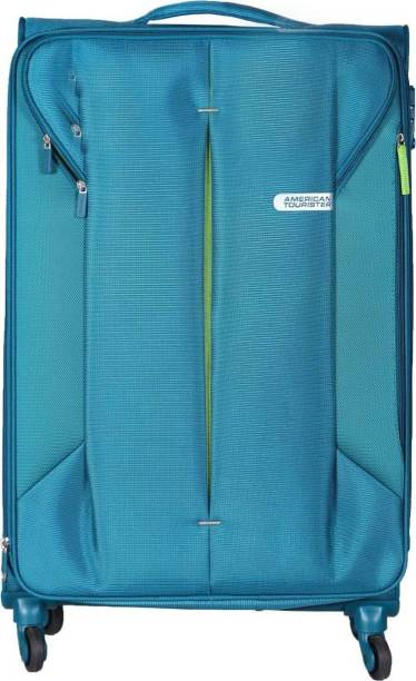 91a5250a25e7 American Tourister AMT SPECTRALITE TSA SP55 FR GR Expandable Cabin Luggage  - 10 inch Emerland Expandable