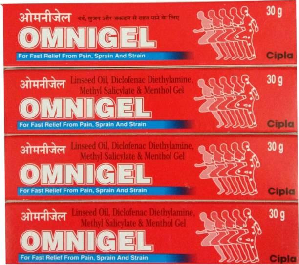 Cipla OMNIGEL 30 GM (PACK OF 4) Gel