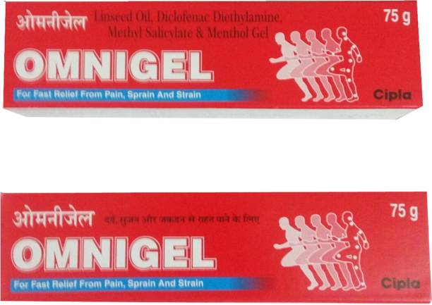Cipla OMNIGEL 75 GM (PACK OF 2) Gel
