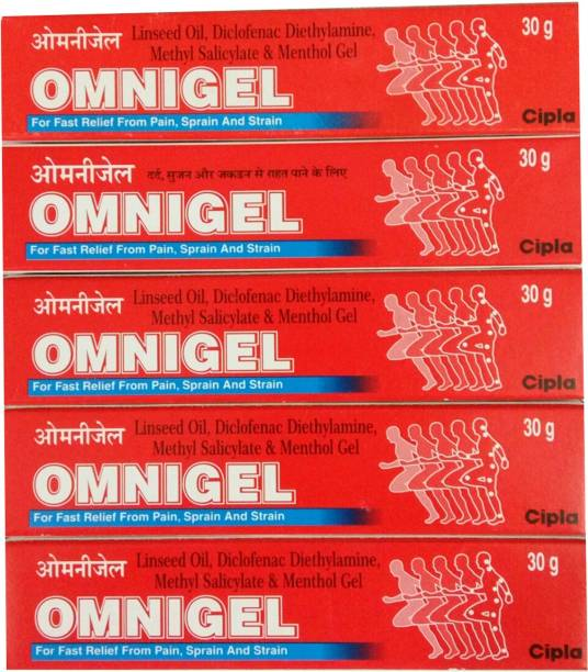 Cipla OMNIGEL 30 GM GEL (PACK OF 5) Gel