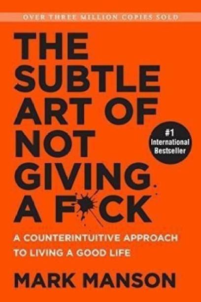 ca14d09b72 Price -- High to Low. The Subtle Art of Not Giving a F ck - A  Counterintuitive Approach to Living