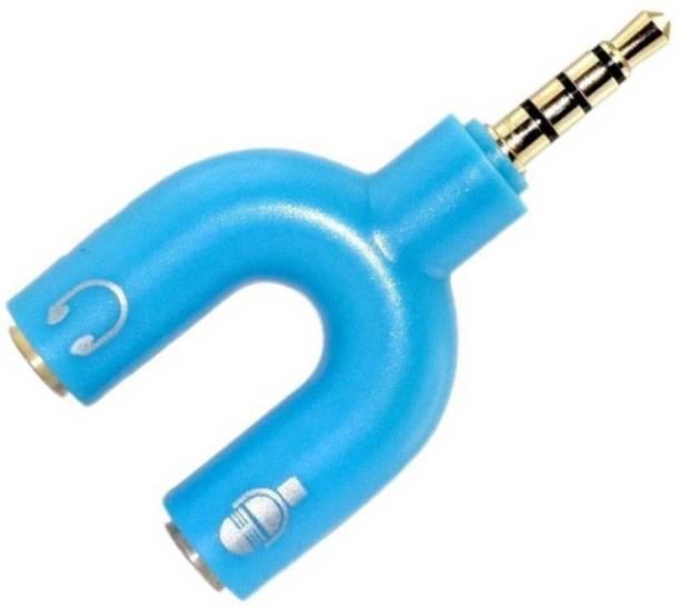 DILURBAN Blue BEST audio splitter Phone Converter