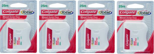 Colgate Waxed Dentel Floss For Improved Mouth Health