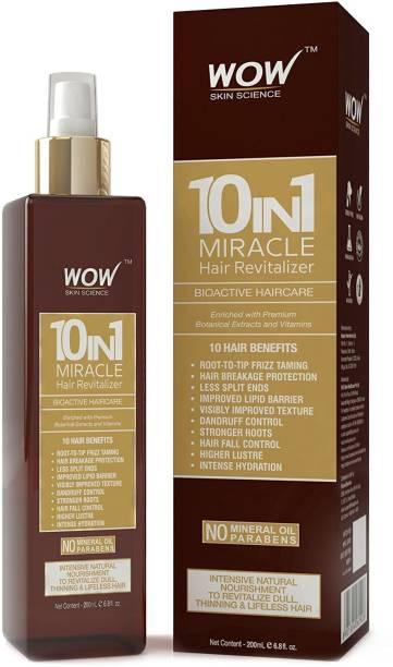 WOW SKIN SCIENCE 10 in 1 Miracle Hair Revitaliser Hair Oil